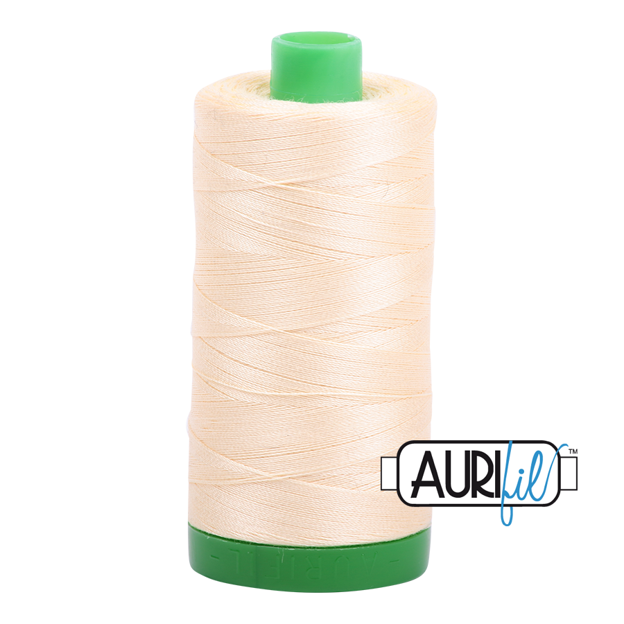 Aurifil 40/2 - 2123 Butter