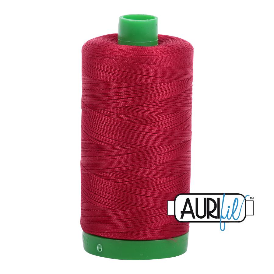 Aurifil 40/2 - 2260 Red Wine