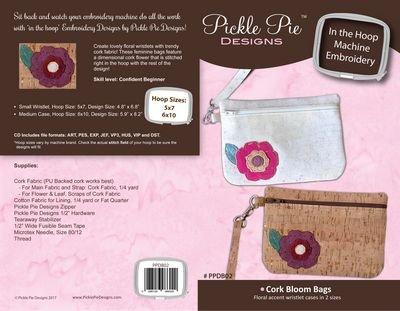 Cork Bloom Bags by Pickle Pie