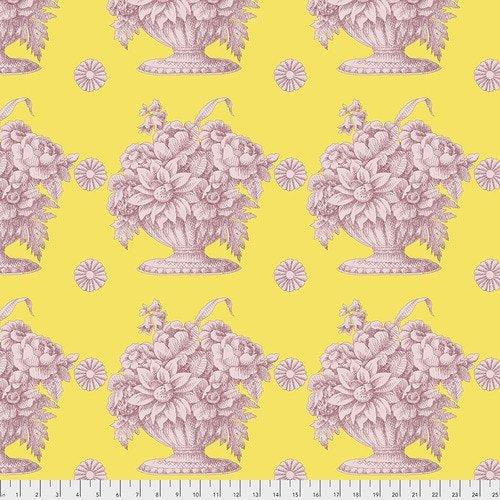 Kaffe Fassett Collective Fall 2018 - Stone Flower Yellow