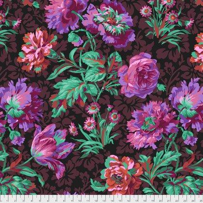 Spring 2018  - Baroque Floral - Black