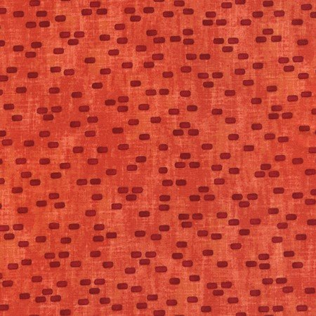 Row by Row Fabric Red Brick