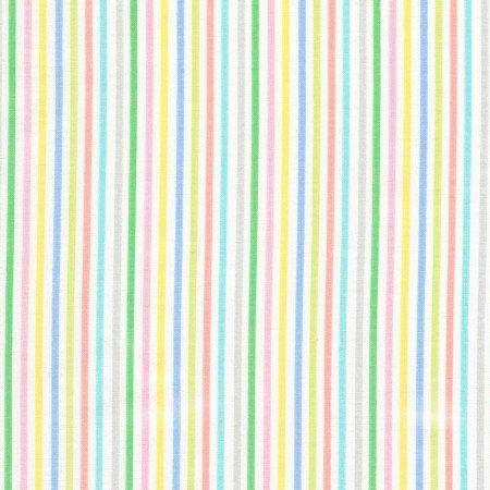 Jungle Parade - Pastel Stripe