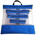 See Your Stuff 4pc Royal  Bag Set