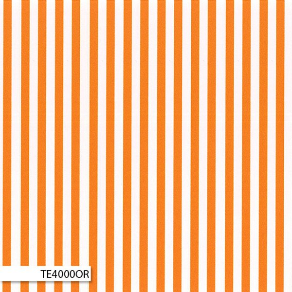 Ellas Basics  Stripes Orange and White