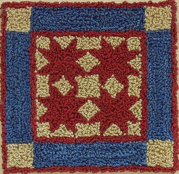 Punchneedle Embroidery Kit - Tiny Stars