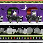 Fangtastic with Glow - Border Stripe