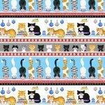 The Cat's Meow - Border Stripe