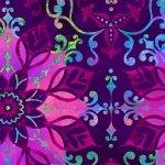 Aflutter - Flowers Purple
