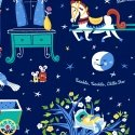 Nursery Rhymes - Dark Blue with characters