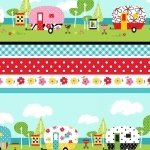 Quilt Camp Border Stripe