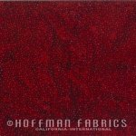 Hoffman 885 Dots - 568 Red Velvet