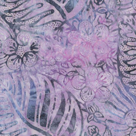 Mystical Prism - Tropical Leaf Study Mauve B3260