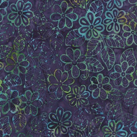 Mystical Prism - Stencil Flower Grape B5675