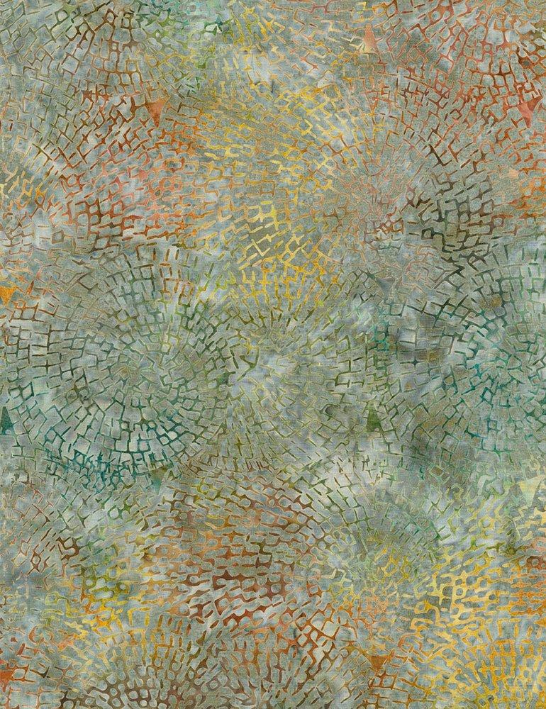 Tonga Batiks Storm Circle Mosaic