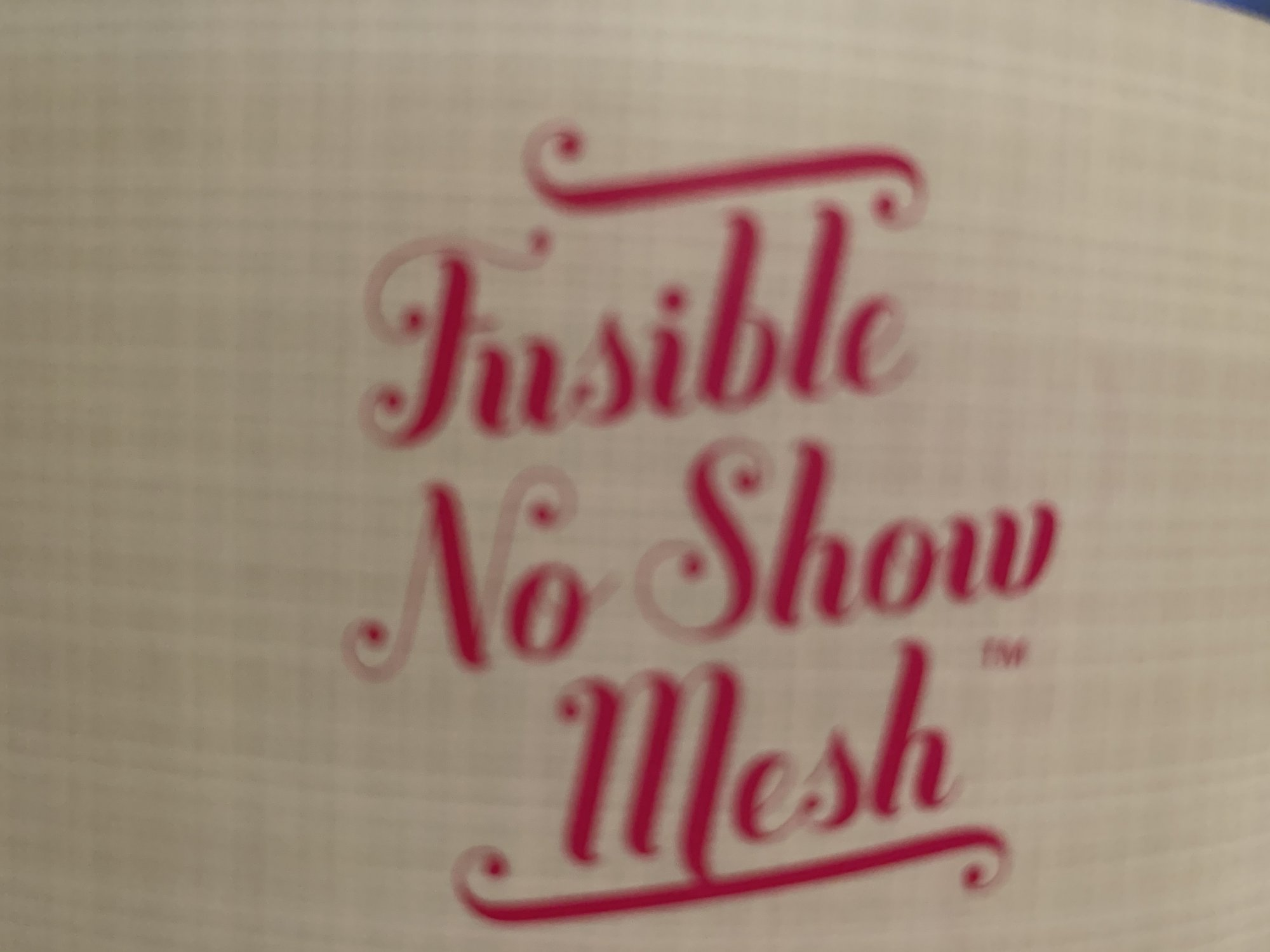INSPIRA FUSIBLE NO SHOW MESH BLACK 12 X 10 YDS - copy