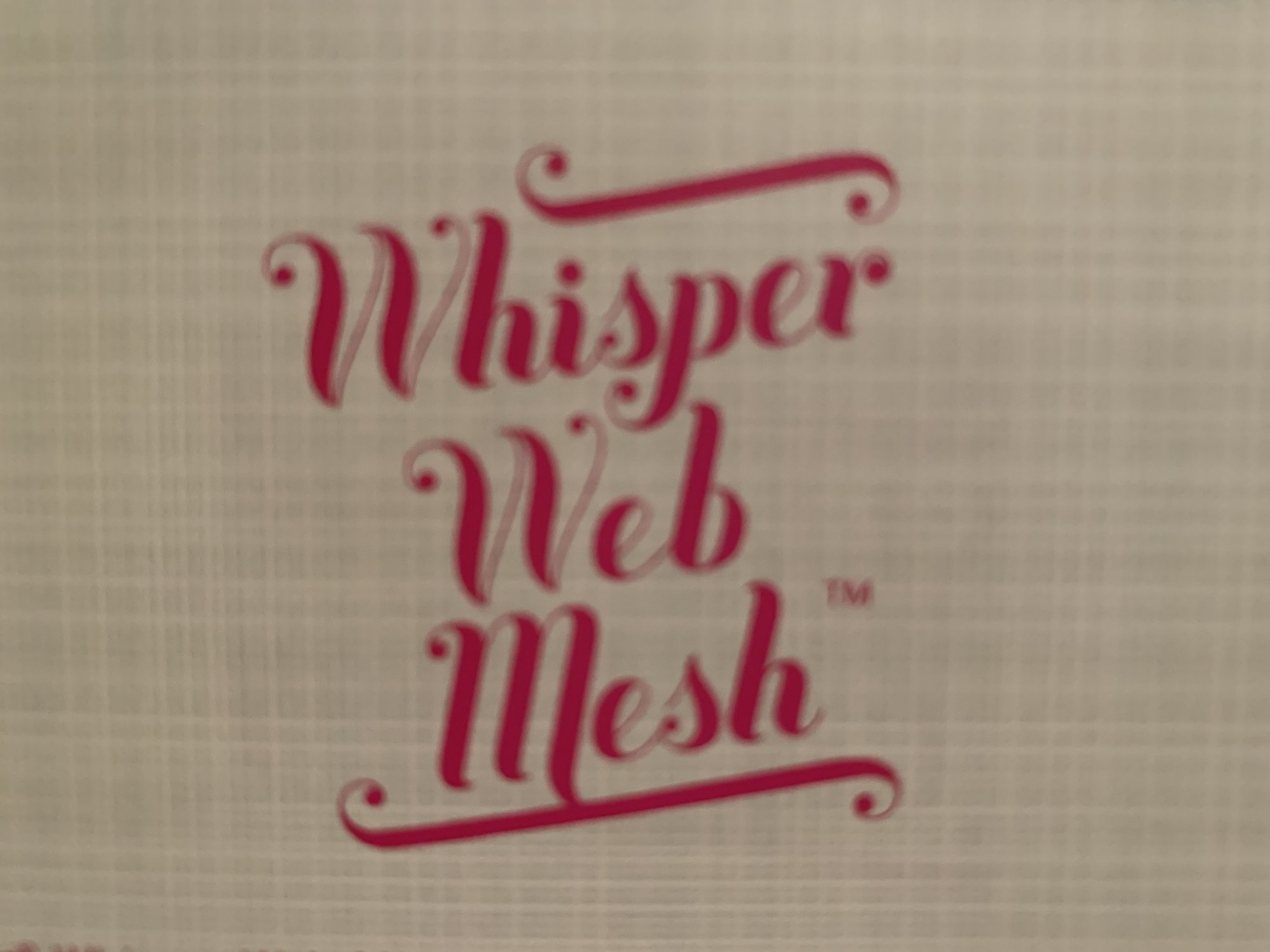 INSPIRA WHISPER WEB MESH 20 X 10 YDS
