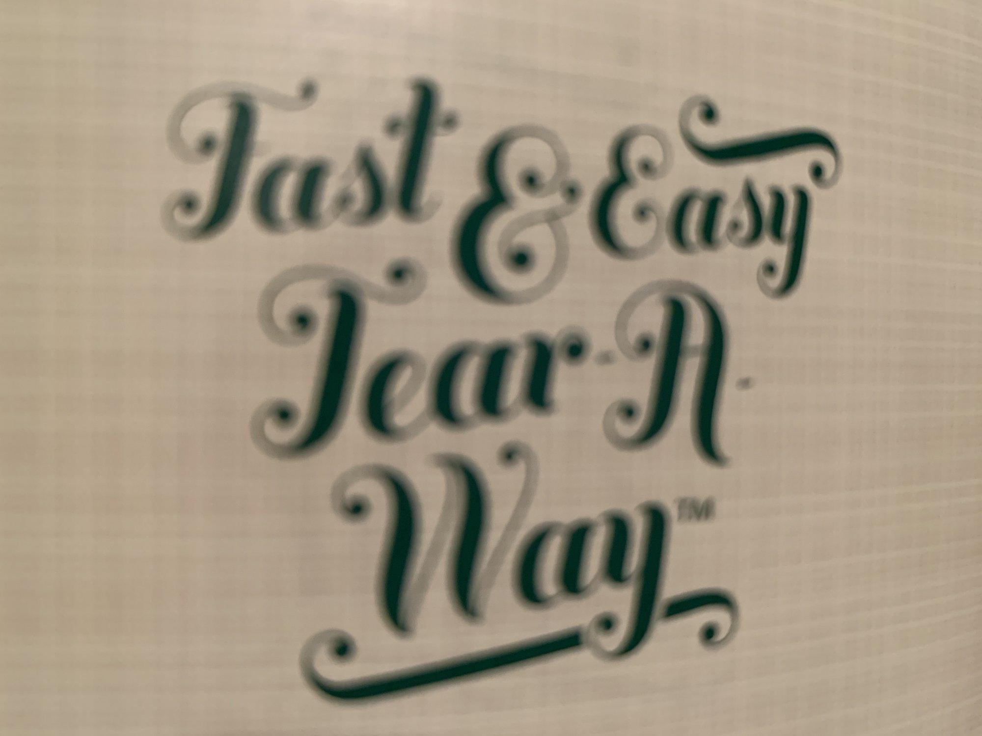 INSPIRA FAST & EASY TEAR-A-WAY 12 X 10 YDS