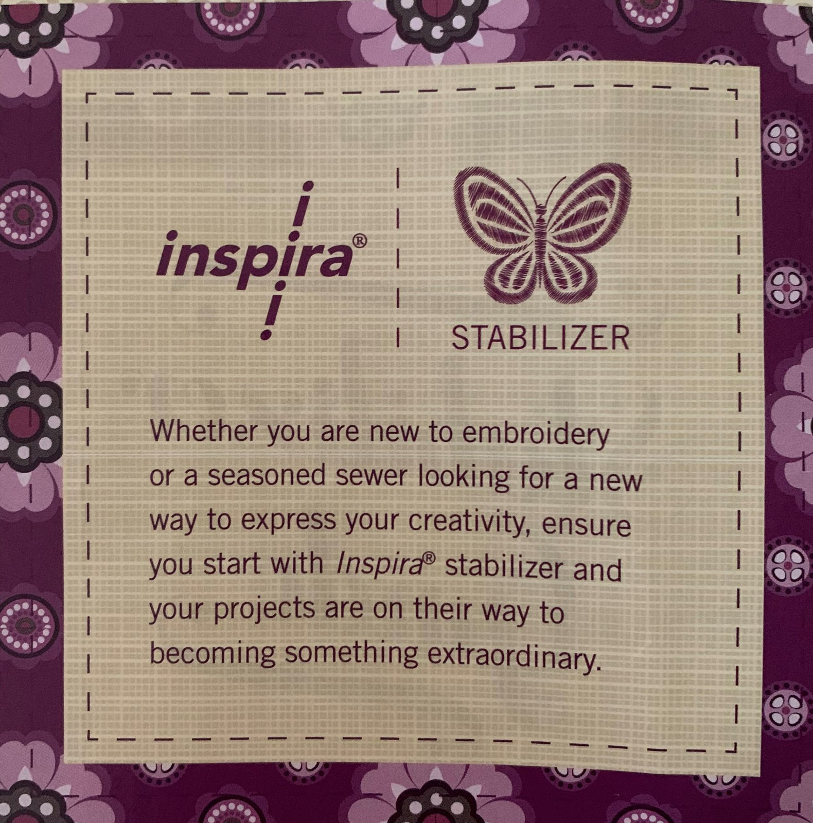 Inspira Fusible Placemat Forms