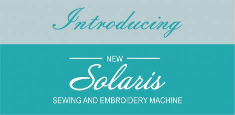 New Baby Lock Solaris Sewing and Embroidery Machine