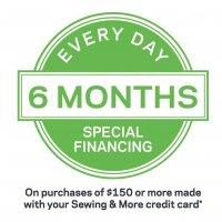 6 Months Financing