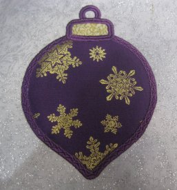 Cameo Bell Applique