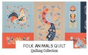 Folk Animals Quilt