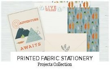 Printed Fabric Stationery