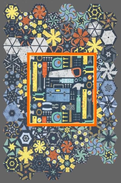 One Block Wonder Panel Quilt