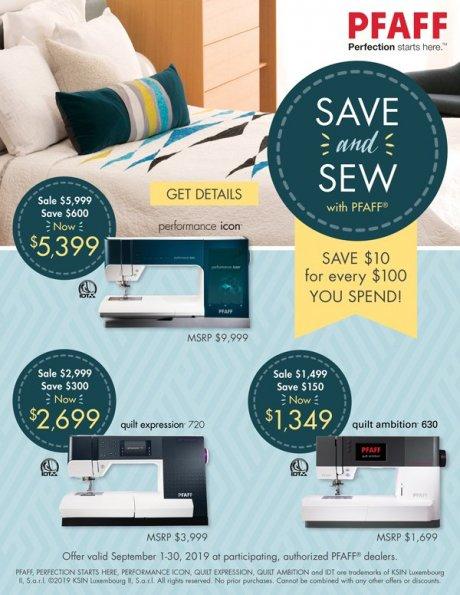 Save & Sew