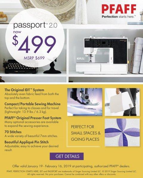 $499 Passport 2.0