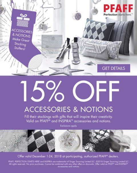 15% Off Notions
