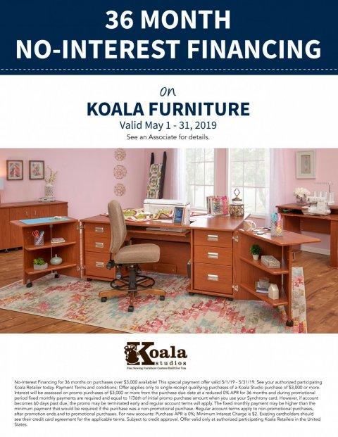 Koala Furniture Financint
