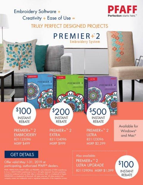 Premier +2 Rebates