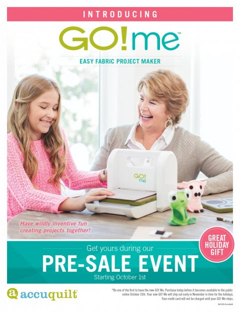 Pre-Sale Go! Me