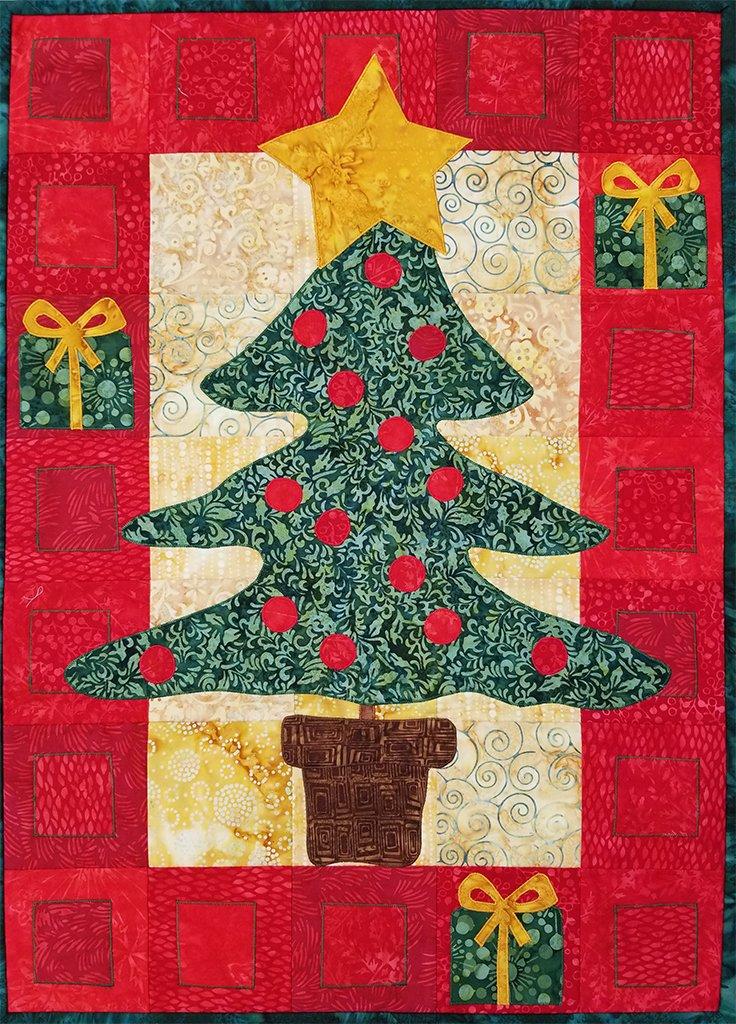 Calendar Quilt Christmas Tree