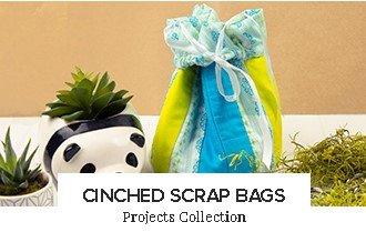 Cinched Scrap Bags