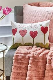 Garden of Hearts Pillow