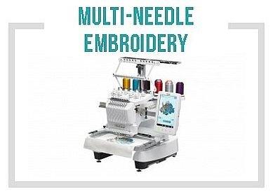Multi-needle Embroidery