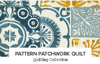Pattern Patchwork Quilt
