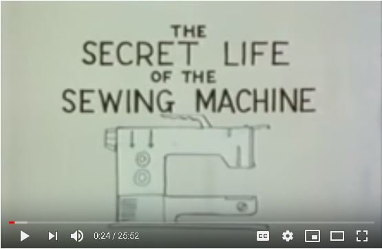 Secret Life of the Sewing Machine