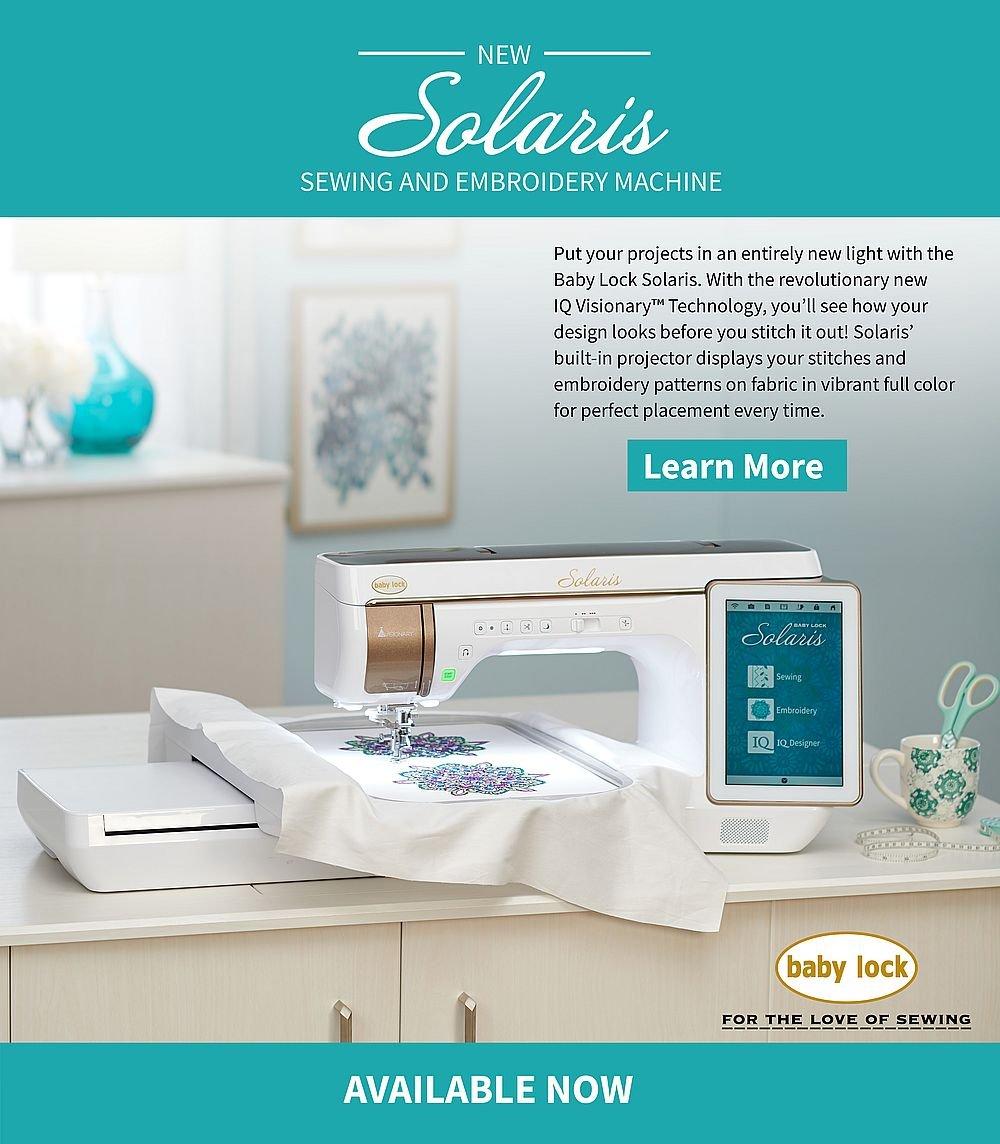Baby Lock Solaris