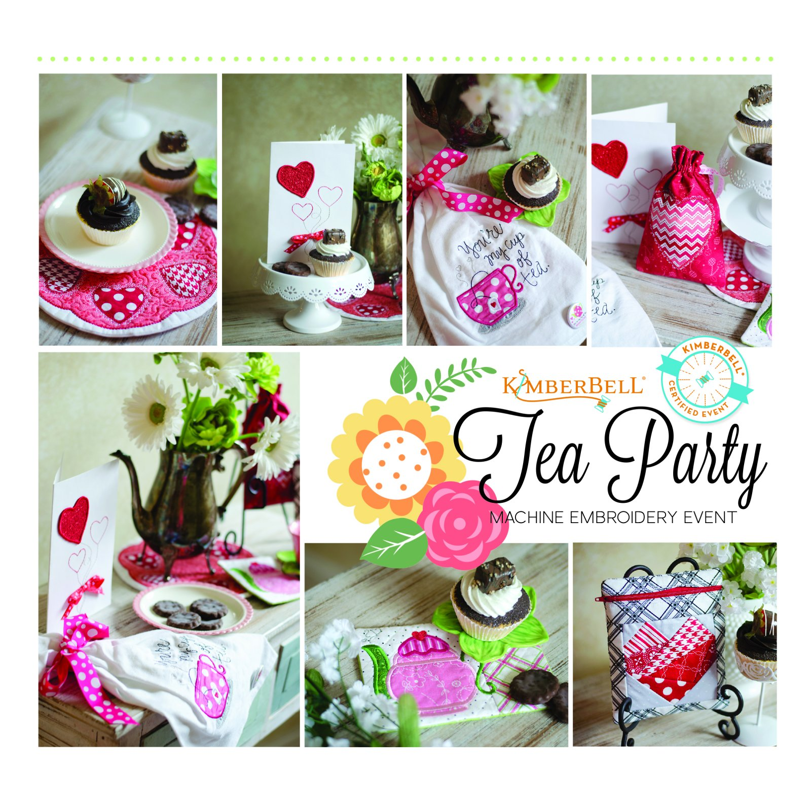 Kimberbell Tea Party