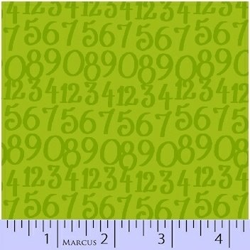 Marcus Do The Math Numbers 0551 0552 Green