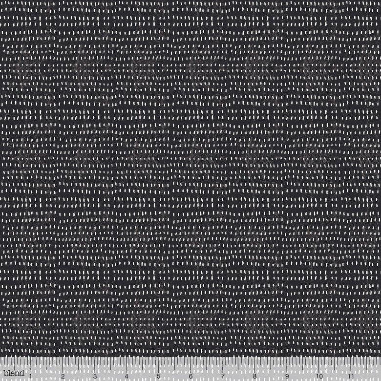 Blend Fabrics Seeds  112.114.16 Charcoal
