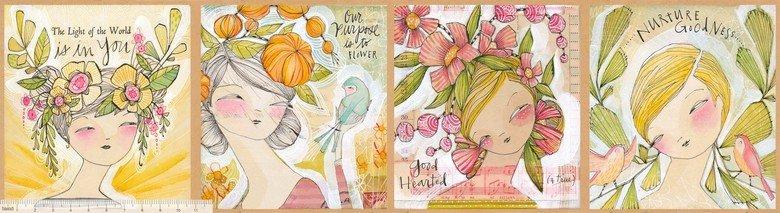 Bloom & Grow by Cori Dantini - Truth Teller Panel 112.125.01.01