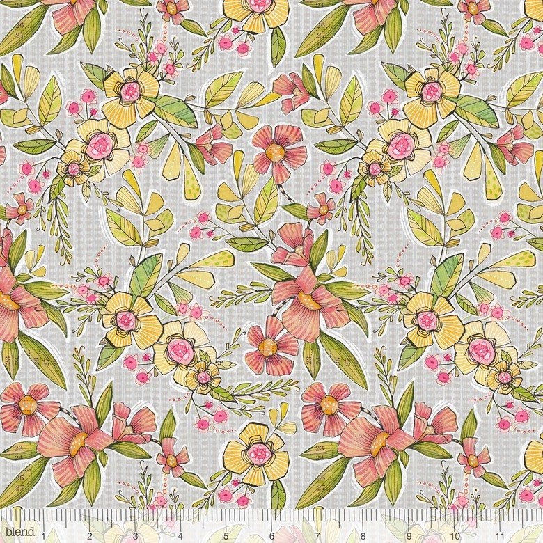 Bloom & Grow by Cori Dantini - Happy Bloomer Grey 112.125.03.1