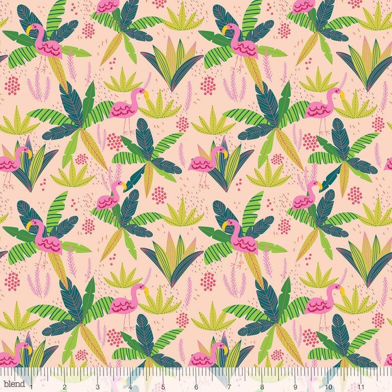 129.102.06.1 Jungle Flamingo Pink