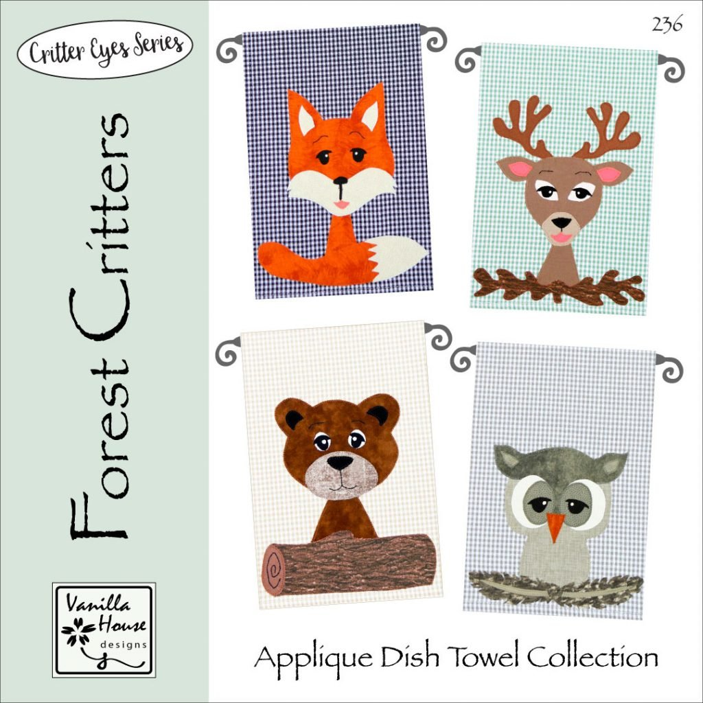 Vanilla House Forest Critters P236