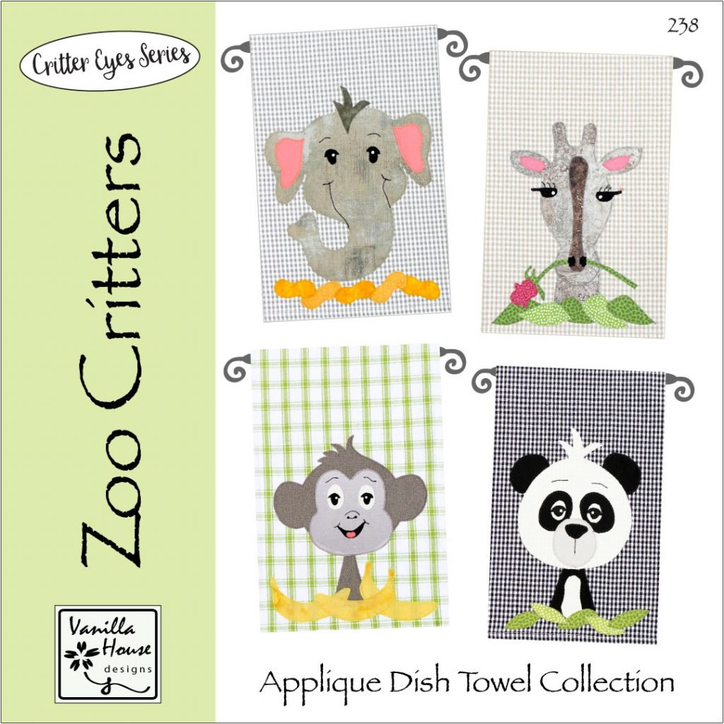 Vanilla House Zoo Critters P238